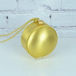 PALOMA PICASSO Rare Vintage Gold Ball Bag…